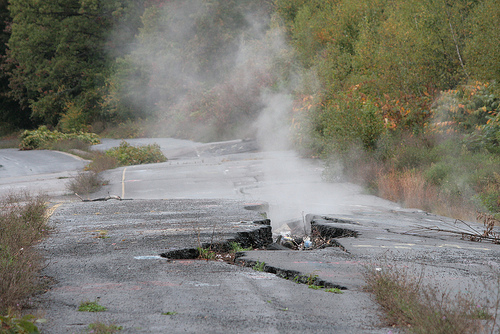 Freaky places to be – Centralia, near ghost town in Philadelphia